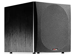 Polk Audio PSW505 12-Inch Powered Subwoofer Single Black