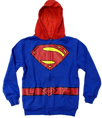 Superman Man of Steel Logo Child Costume Hoodie