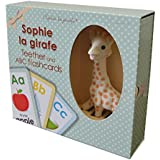 Sophie the Giraffe Teether and ABC Flashcards Set