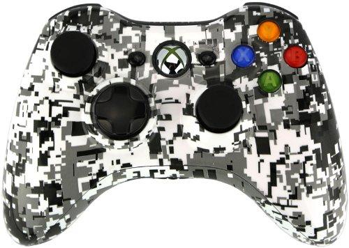 Viper Controllers - Digi White Modded Controller - Xbox 360