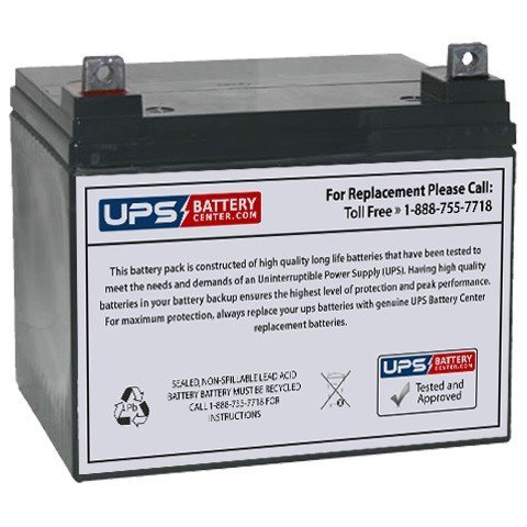 Rascal 600 Series 12V 35Ah Scooter Battery Replacement