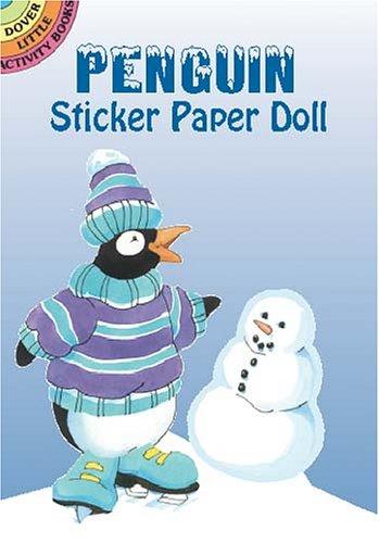 Penguin Sticker Paper Doll