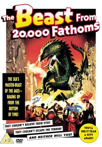 The Beast From 20,000 Fathoms [DVD] [1953]