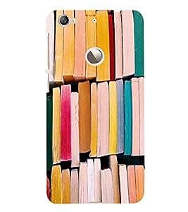 PrintVisa Books Pattern 3D Hard Polycarbonate Designer Back Case Cover for LeEco Le 1S