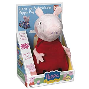 Peppa Pig - Libro de actividades (Bandai 84257) - BebeHogar.com