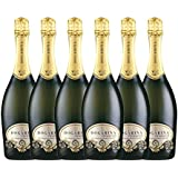 High Quality Dogarina Prosecco Spumante DOC Treviso Extra Dry Millesimato (2014) 750 ml Case of 6