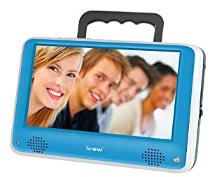 iView iVIEW-700PTV Portable 7-Inch Digital LCD TV, Blue