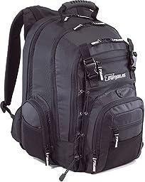 Targus RG0322 5.4 Matrix Notebook Backpack Fits up to 15.4-Inch Screens, Metallic Black (RG0322)