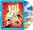 Bolt - 3 Disc Blu-ray (Includes Bonus DVD & Digital Copy)