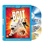 Bolt - 3 Disc Blu-ray (Includes Bonus DVD & Digital Copy)by John Travolta