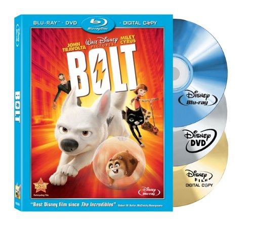 Bolt (Three-Disc Edition w/ Standard DVD + Digital