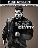 The Bourne Identity (4K Ultra HD + Blu-ray + Digital HD)
