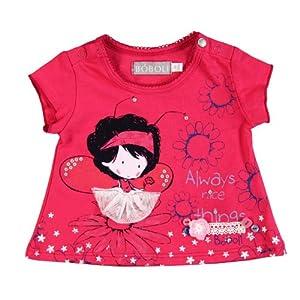 Bóboli - Camiseta con cuello redondo de manga corta para bebé
