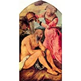 Art Panel - Job Mocked By His Wife By Durer