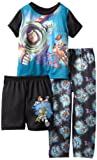 Disney Boys 2-7 Look Out Roundup Time Short Sleeve 3 Piece Pajama Set
