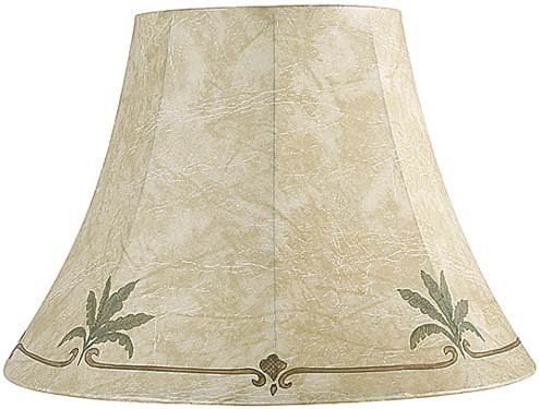 Palm Leaf Faux Leather Lamp Shade 9x18x13 SpiderB0000DKVIF