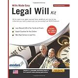 Legal Will Kit: Wills Made Easy ~ enodare