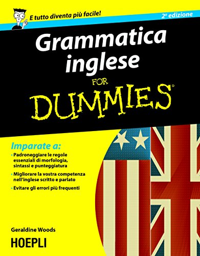 Grammatica inglese For Dummies Hoepli for Dummies PDF