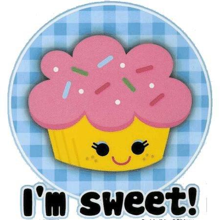 I'm Sweet Sticker - Buy I'm Sweet Sticker - Purchase I'm Sweet Sticker (Kreemy Snack Kids, Toys & Games,Categories,Arts & Crafts,Stamps & Stickers)