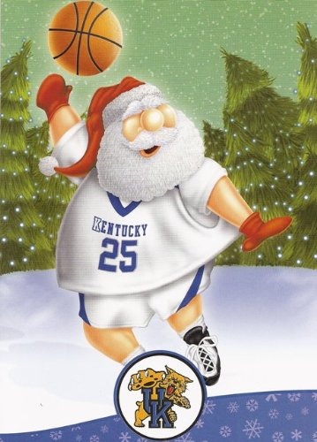 Kentucky UK Wildcats College Christmas Cards & Envelopes 12-Pack at Amazon.com