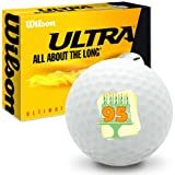 95th Birthday Wilson Ultra Ultimate Distance Golf Balls