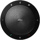 Jabra Speak 510 Wireless Bluetooth and USB Speakerphone for Smartphone Devices - Black