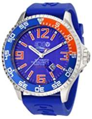 3H Men's DPS2AB Deep-Pro Stainless Steel Blue Dial Automatic Interchangeable Band Watch