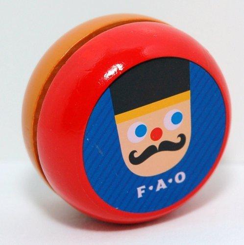 F A O Schwarz Wooden Yoyo - 1