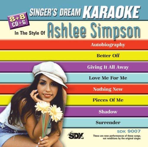 Ashlee Simpson - Ashlee Simpson (Karaoke CDG) - Zortam Music