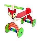 Hess Holzspielzeug 31178 - Rutscher Fuchs aus Holz