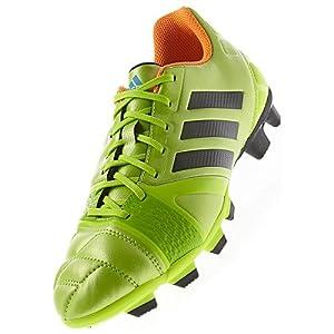 adidas Performance Men's Nitrocharge 3.0 TRX FG Soccer Shoe, Solar Slime/Black/Solar Zest, 10.5 M US