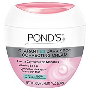 POND'S Clarant B3 AntiDark Moisturizing Cream, For Normal to Oily Skin, 7oz Jars (Pack of 2)