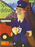 Alan Dart Special Delivery Toy Postman Pat by Alan Dart Knitting Pattern: Measurements 30cm 12