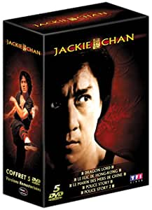 Coffret Jackie Chan 5 DVD : Dragon Lord / Le Flic de Hong-Kong / Le Marin des mers de Chine / Police Story / Police Story 2