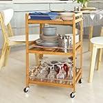 SoBuy Kitchen Serving Trolley, Cupboa...