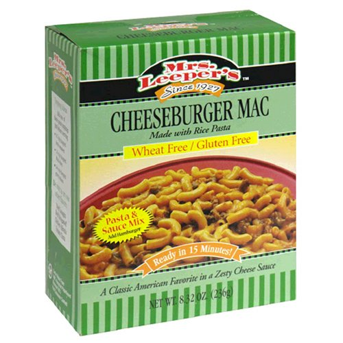 Mrs. Leeper's Cheeseburger Mac Dinner, 8.32 Ounce Boxes (Pack of 12)