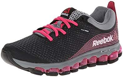 Reebok Women's Zjet Running Shoe, Graphite/Pink Fusion