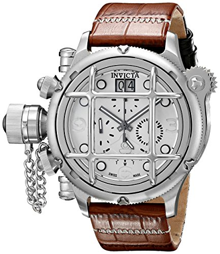 Invicta-Mens-17336-Russian-Diver-Analog-Display-Swiss-Quartz-Brown-Watch