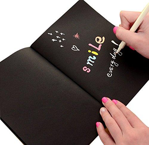 butterme-noir-scrapbook-notebook-notepad-carnet-de-croquis-pour-diy-graffiti