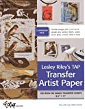 img - for Lesley Riley's TAP Transfer Artist Paper Class Room Pack: 100 Iron-on image transfer sheets 8.5