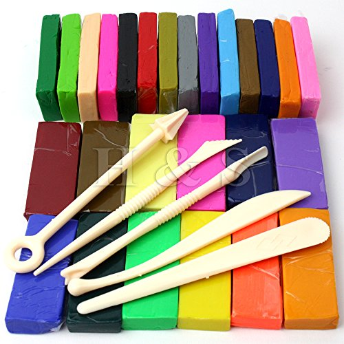 hs-650g-26-colours-oven-bake-polymer-clay-block-modelling-moulding-sculpey-tool-set