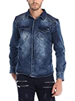 RNT23 Camisa Hombre (Azul Marino)