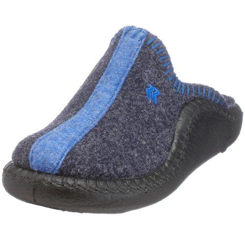 Romika 61042 54 352 Mokasso 62, Pantofole unisex bambino, Blau (marine 503), 35 (2.5 UK)