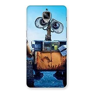Ajay Enterprises Div Eye Crane Back Case Cover for OnePlus 3