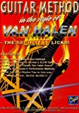 echange, troc Guitar Method: Van Halen - 50 Hottest Licks [Import USA Zone 1]