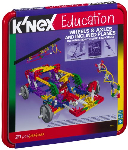 Buy K'NEX EDUCATION Intro to Simple Machines:  Wheels, Axels and Inclined Planes-221 pcs