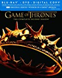 Game of Thrones: The Complete Second Season [Blu-ray + DVD + Digital Copy]