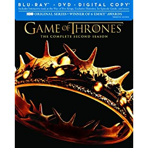 Game of Thrones: The Complete Second Season (Blu-ray/DVD Combo + Digital Copy)