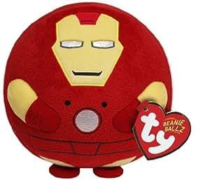 Ty Beanie Ballz Ty Beanie Ballz Iron Man Plush, Regular