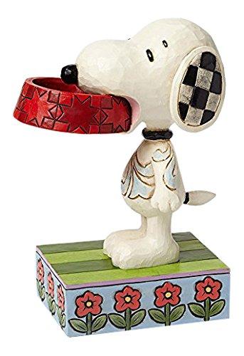 Enesco 4049411 Snoopy - Un Po di Cibo in Più per Favore, Multicolore